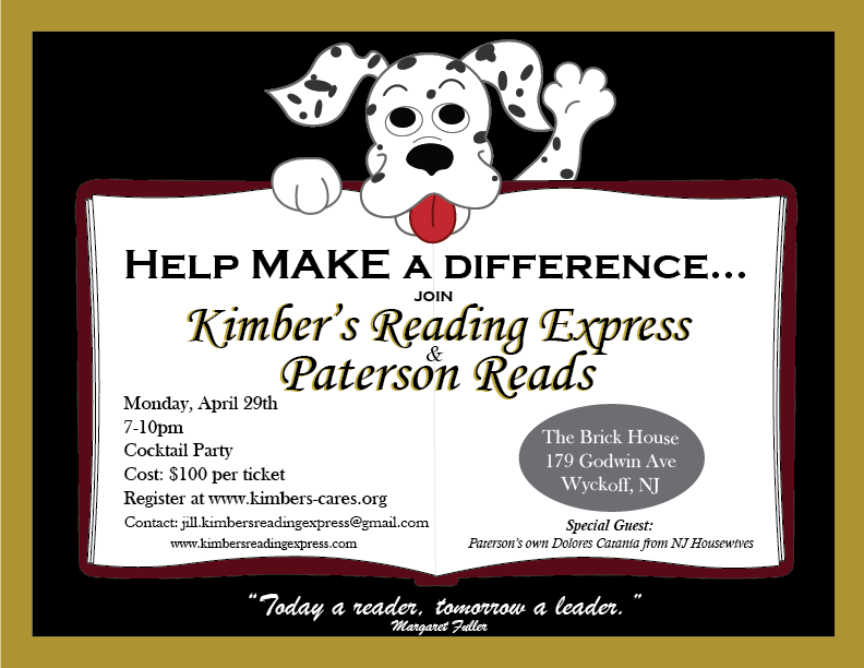 Kimbers Cares – Giving the Gift of Reading